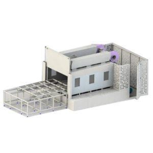 Моечный комплекс для промышленной очистки деталей АМ5300 BS