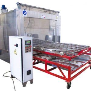 Установка для промышленной очистки деталей АМ1500 BS